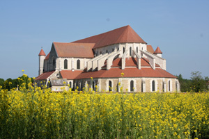 Pontigny Abbey in the Yonne (89)