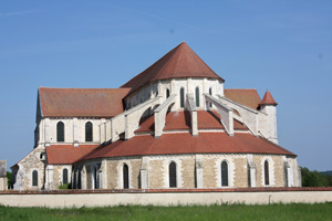 Pontigny Abbey in the Yonne in the Bourgogne region
