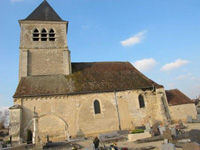 Saint Pierre church in Chablis