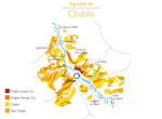 The Chablis winegrowing area